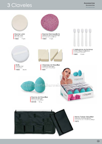 BEAUTY ACCESSORIES 3 Claveles