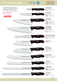 KITCHEN KNIVES PROFLEX 3 Claveles