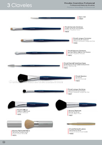 COSMETIC BRUSHES 3 Claveles
