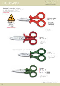 ELECTRICIAN SCISSORS 3 Claveles