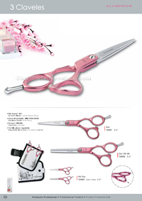 HAIRDRESSING SCISSORS ALUMINIUM 1 3 Claveles