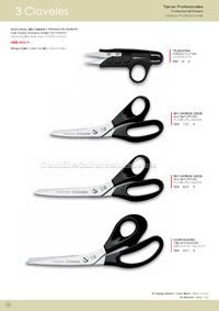 PROFESSIONAL SCISSORS 3 Claveles