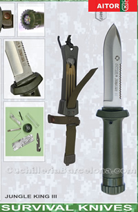 CUCHILLO SUPERVIVENCIA JUNGLE KING III Aitor