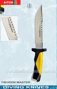 DIVING KNIVES TIBURON MASTER Aitor