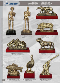 TROPHIES AND ORNAMENTATION Albainox