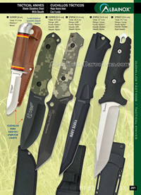 TACTICAL KNIVES 03 Albainox