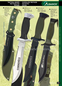 TACTICAL KNIVES 05 Albainox