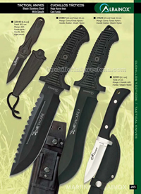 TACTICAL KNIVES 07 Albainox