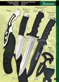TACTICAL KNIVES 09 Albainox
