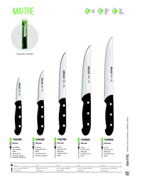 KITCHEN KNIVES MAITRE Arcos