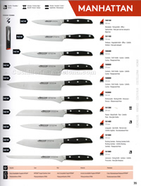 MANHATTAN KITCHEN KNIVES Arcos