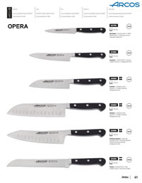OPERA KITCHEN KNIVES Arcos