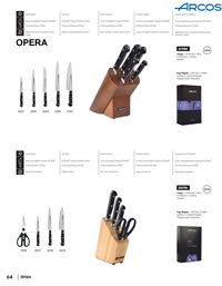 OPERA KITCHEN KNIVES 4 Arcos