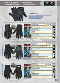TACTICAL GLOVES AND ANTICORTE GLOVES Barbaric
