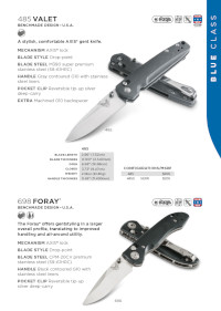 COUTEAUX POCHE VALET FORAY Benchmade