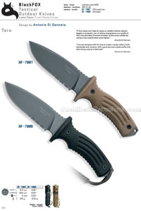 TORA KNIVES Blackfox