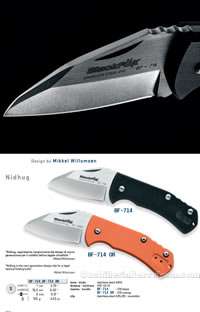 NIDHUG FOLDING KNIVES Blackfox