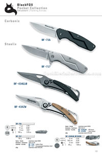 CARBONIX STEELIX FOLDING KNIVES Blackfox