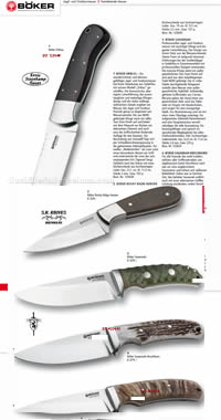 COUTEAUX HUNTING BOKER