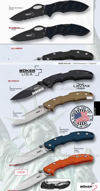 MILITARY POCKET KNIVES BOKER