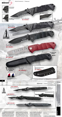 TACTICAL KNIVES AND TRAINING BOKER
