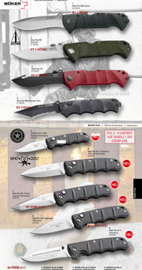 HUNTING AND MOUNTAIN KNIVES BOKER