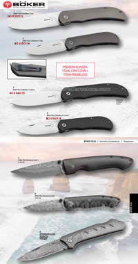 CLASSIC POCKET KNIVES BOKER