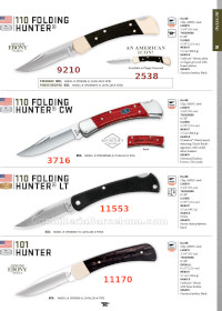 HUNTER POCKETKNIVES Buck