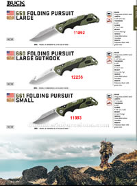 PURSUIT SERIES FOLDING KNIVES Buck