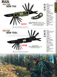 BOW TRX TOOL FOLDING KNIVES Buck