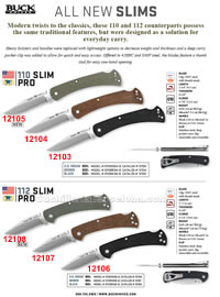 SLIM PRO FOLDING KNIVES Buck