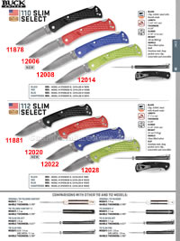 SLIM SELECT FOLDING KNIVES Buck