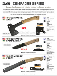AXES|KNIVES|MACHETES COMPADRE Buck