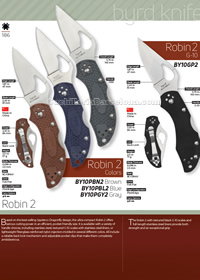 TACTICAL FOLDING KNIVES ROBIN 2 Byrd