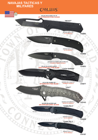 TACTICAL AND MILITARY POCKETKNIVES Camillus