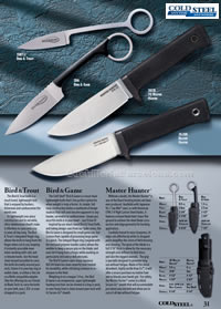 BIRD, MASTER TACTICAL KNIVES ColdSteel