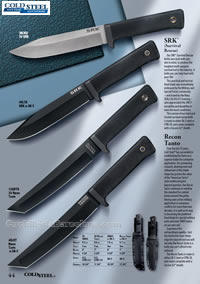 SRK, RECON TANTO SURVIVAL KNIVES ColdSteel