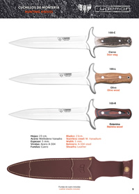 MOUNT KNIVES Cudeman