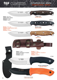 CUCHILLO OUTDOOR OPUS NESS WOLF Cudeman