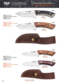 COUTEAUX CHASSE 6 Cudeman
