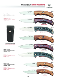 HUNTING POCKET KNIVES 1 Cudeman