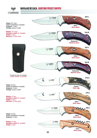 HUNTING POCKET KNIVES 2 Cudeman