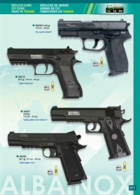 STEEL BALLS PISTOLS CO2 Cybergun