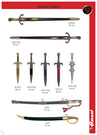 SWORDS AND SABERS Denix