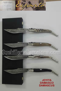 POCKET KNIVES JOYIYA DAMASCUS Exposito