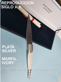 REPRODUCTION NSC19 SILVER IVORY Exposito