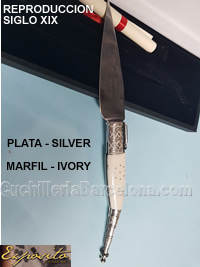 REPRODUCTION NSE21 SILVER IVORY Exposito