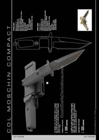 COL MOSCHIN COMPACT KNIFE Extrema Ratio