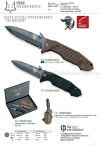 FOX DELTA SPEC.OPS FOLDING KNIVES FKMD