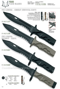 FOX LEONIDA KNIVES FKMD
